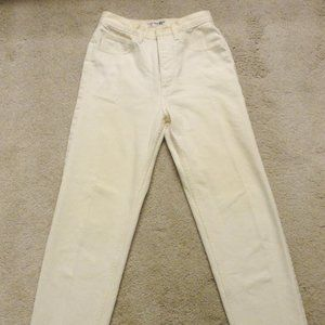 Vintage Cream colored Guess Jeans size 26/28
